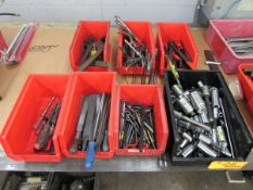 Bins of Assorted Hand Tools