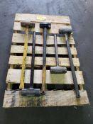 (5) Sledge Hammers