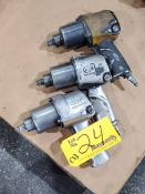 """IR (3) 1/2"""" Pneumatic Impact Wrenches"""