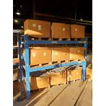 (2) 2-Tier Steel Rack