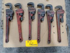 """Craftsman (6) 18"""" Pipe Wrenches"""