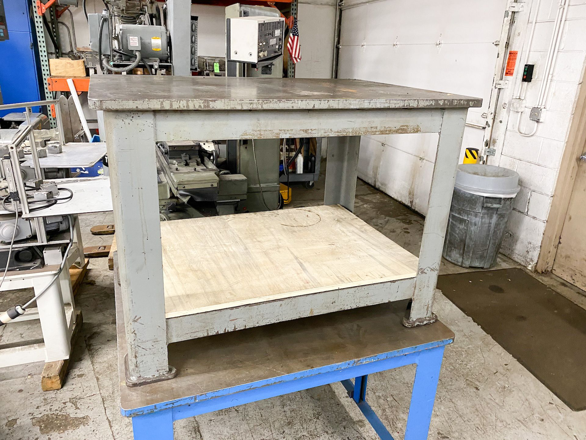 Lot 15A - Heavy Duty Work Table, Machine Benches