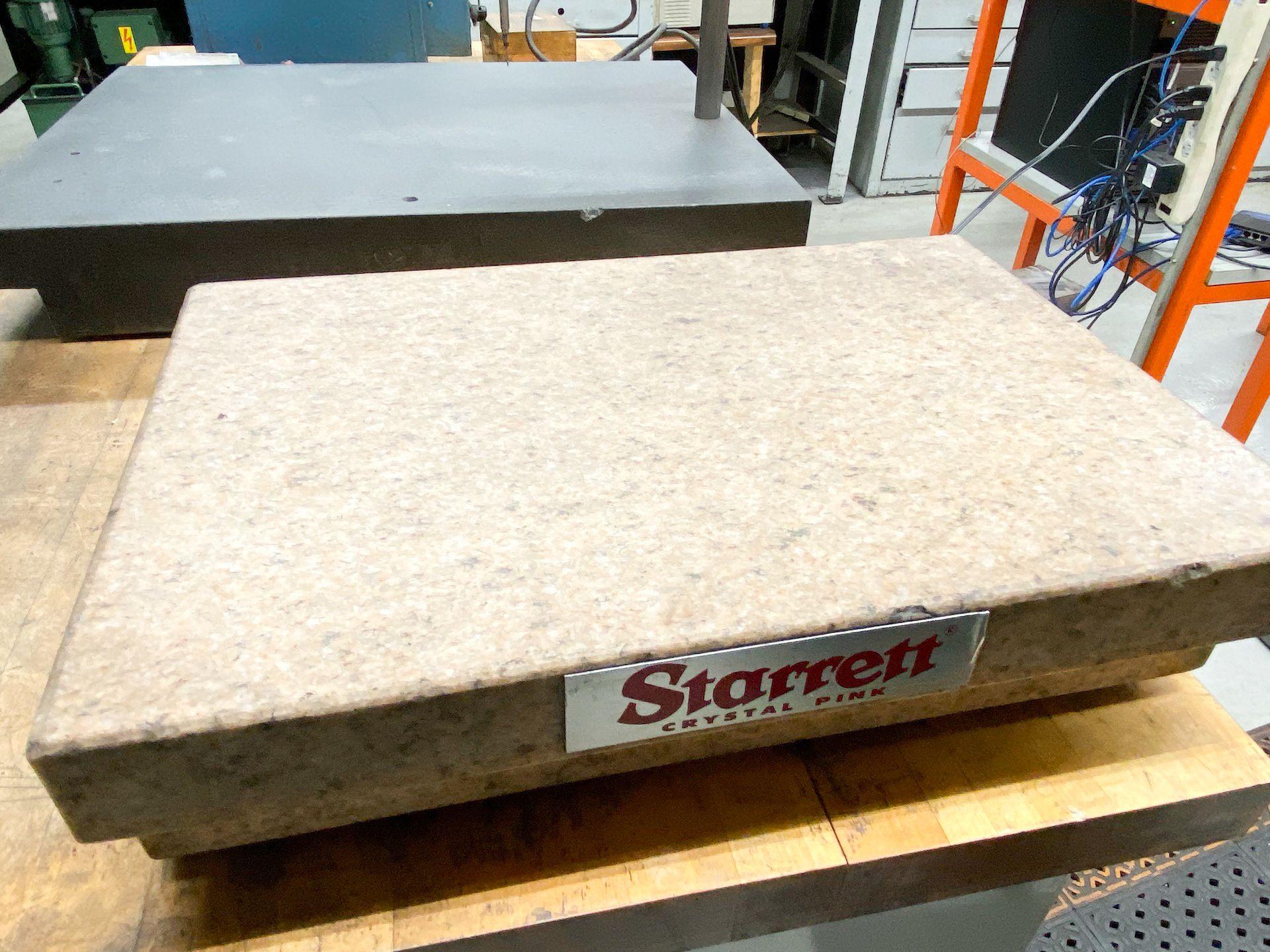 Lot 29 - Starrett Granite Surface Plate
