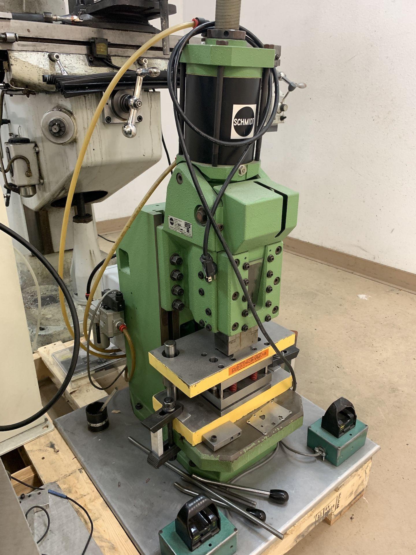 Lot 32B - Schmidt 13000 lb capacity Air Toggle Press