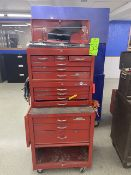 """Dayton 27""""x18"""" Tool Box Contents Incl Pliers, Screwdrivers, Wrenches, Socket Wrenches, Box Cutters"""