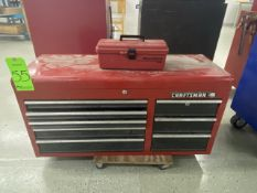 """Craftsman 40"""" x 16"""" Tool Box & Contents Incl Screwdrivers, Hex Key Wrenches, Nuts, Screws & Bolts"""