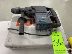 Bosch Hammer Drill with Carrying Case