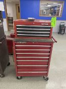 """Craftsman 27"""" x 18"""" Tool Box with Contents incl. Screwdrivers, Rubber Hammers, and Wrenches"""
