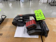 Signode Model BXT2 Battery-Hand Tool For Plastic Strapping