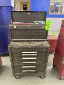 """Kennedy 27"""" x 18"""" Tool Box Including Assorted Hand Tools, Wrenches, Screwdrivers and Hex Keys"""