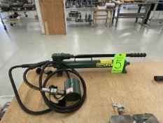 Simplex Enerpac Model P-20 Hydraulic Steel Hand Pump