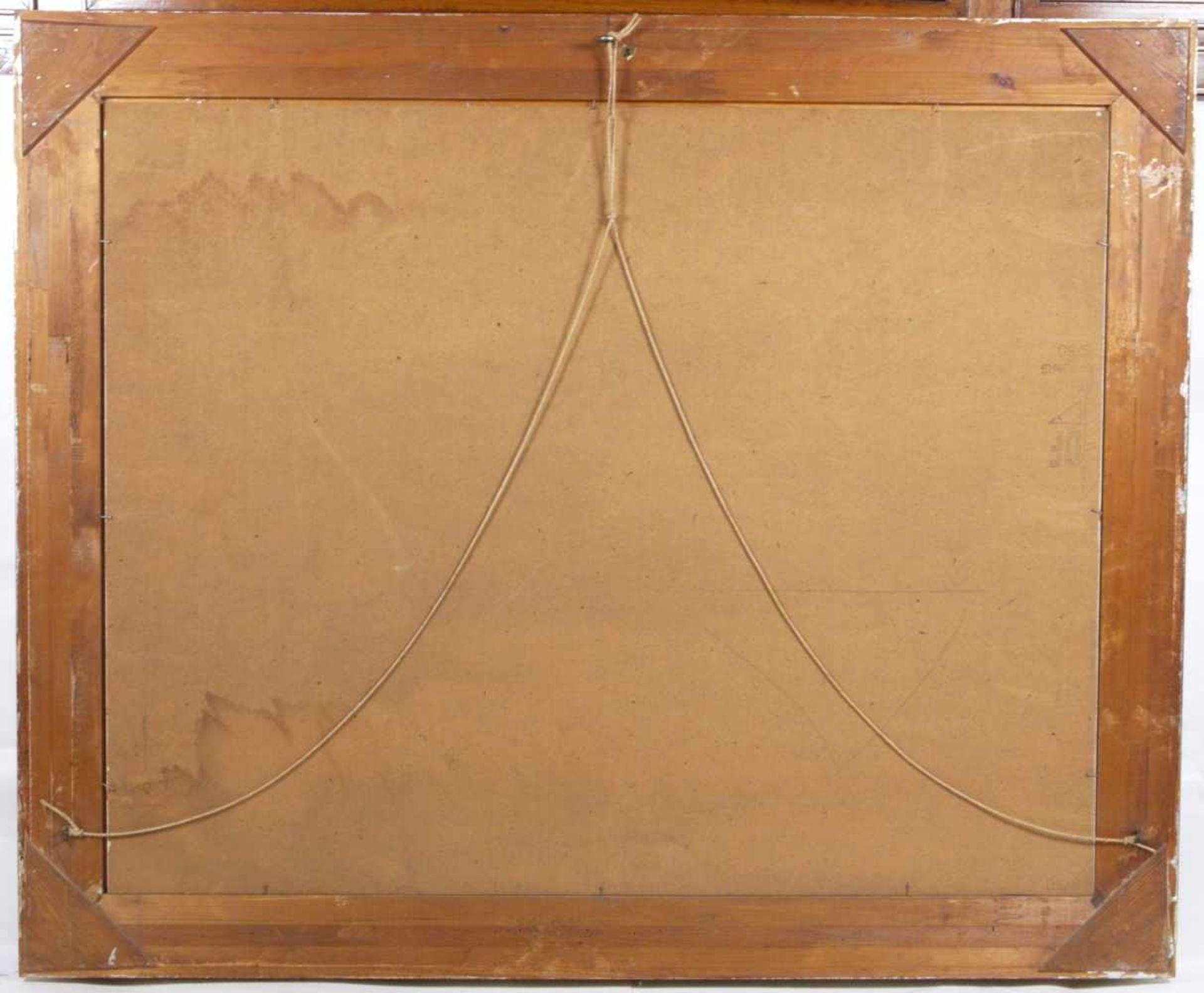 Kugler, Heinrich (1888- ca. 1946) - Symbolträchtiges Stillleben NürnbergGroßformatiges Gemälde in Öl - Bild 3 aus 8