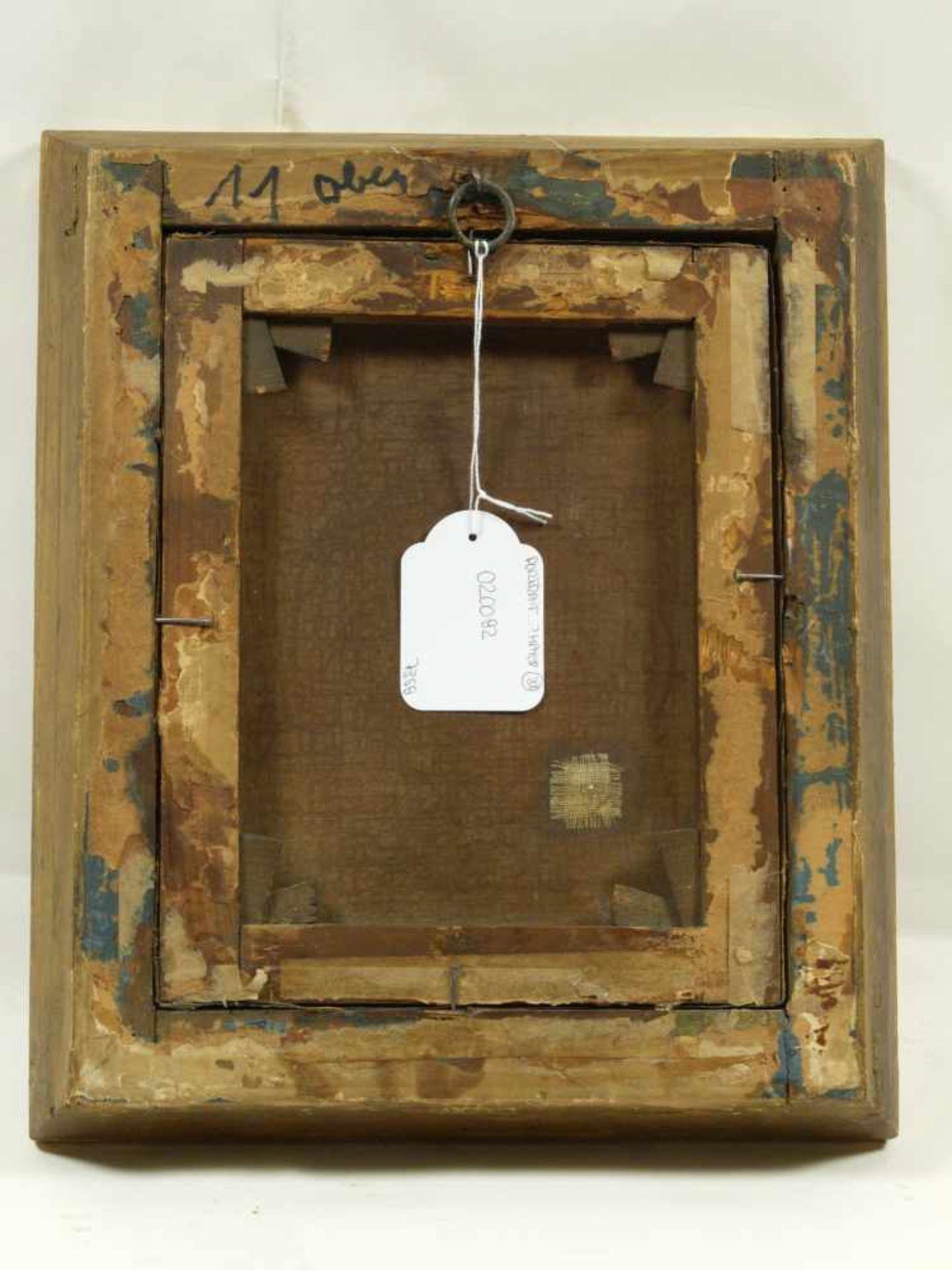 Sig. N. A?mayer - Portrait eines BürgersQualitativ hochwertig ausgeführtes Portait eines auf einen - Bild 7 aus 7