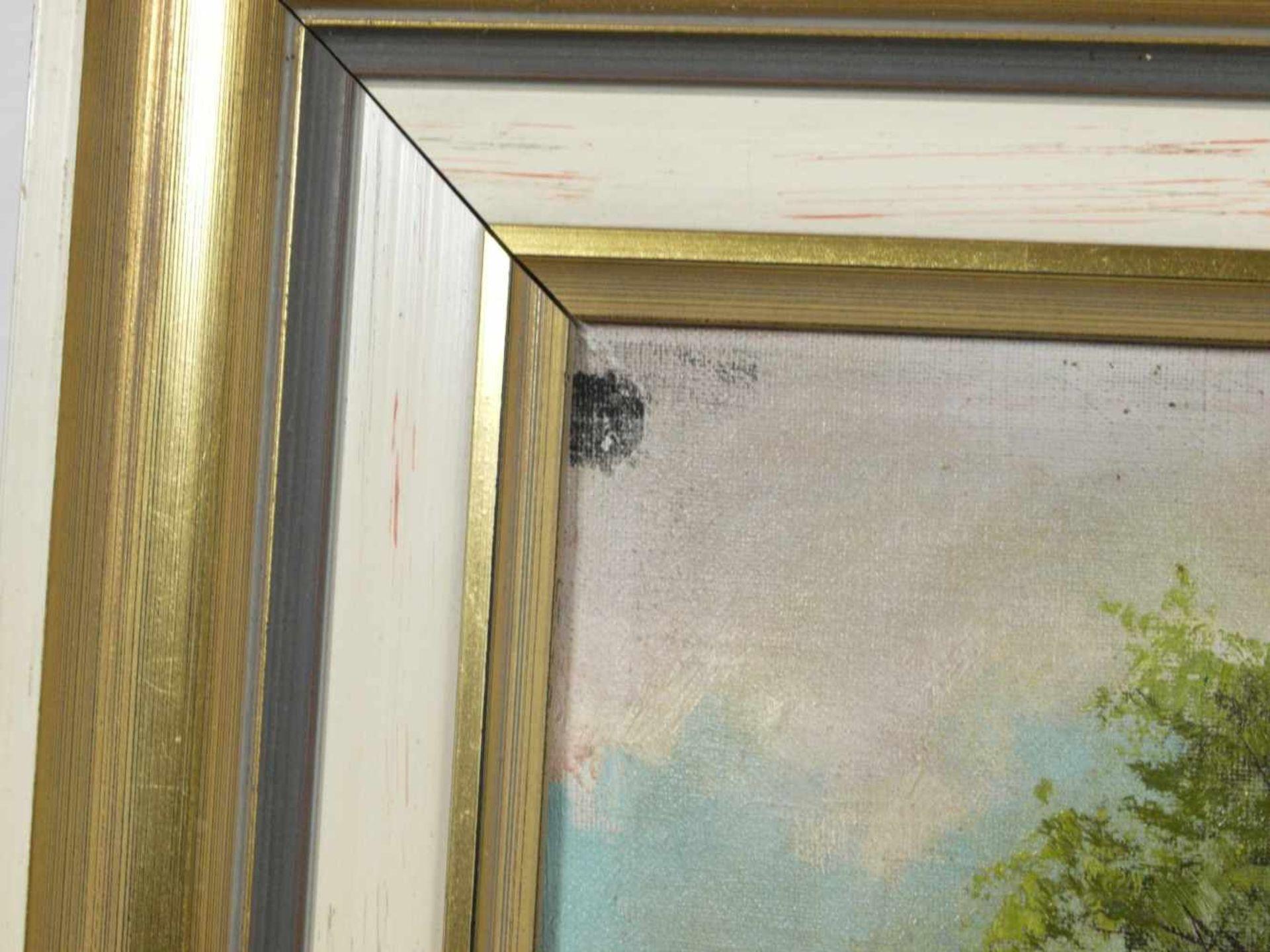 Schmiedgen, W. - Birkenallee im SpätsommerBlick in eine übers Land führende Birkenallee, zu ihren - Bild 5 aus 7