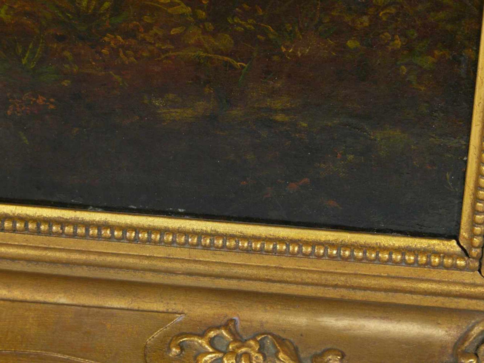 Van Os, Pieter Gerardus (1776-1839) - Romantische Landschaft mit Tieren und SchäferIdealistische - Bild 4 aus 8