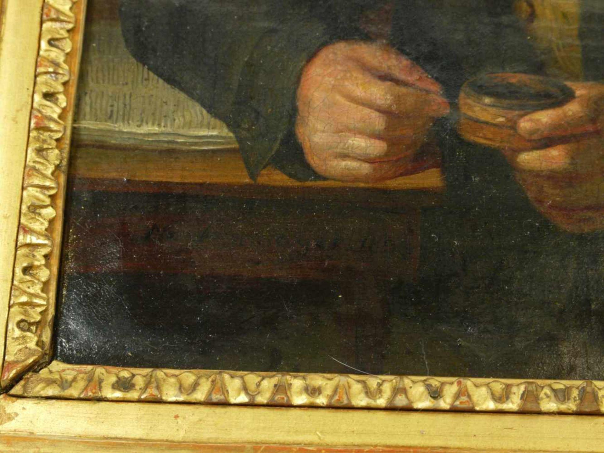 Sig. N. A?mayer - Portrait eines BürgersQualitativ hochwertig ausgeführtes Portait eines auf einen - Bild 3 aus 7