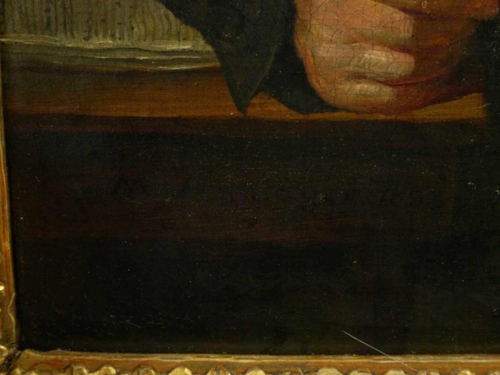Sig. N. A?mayer - Portrait eines BürgersQualitativ hochwertig ausgeführtes Portait eines auf einen - Bild 5 aus 7