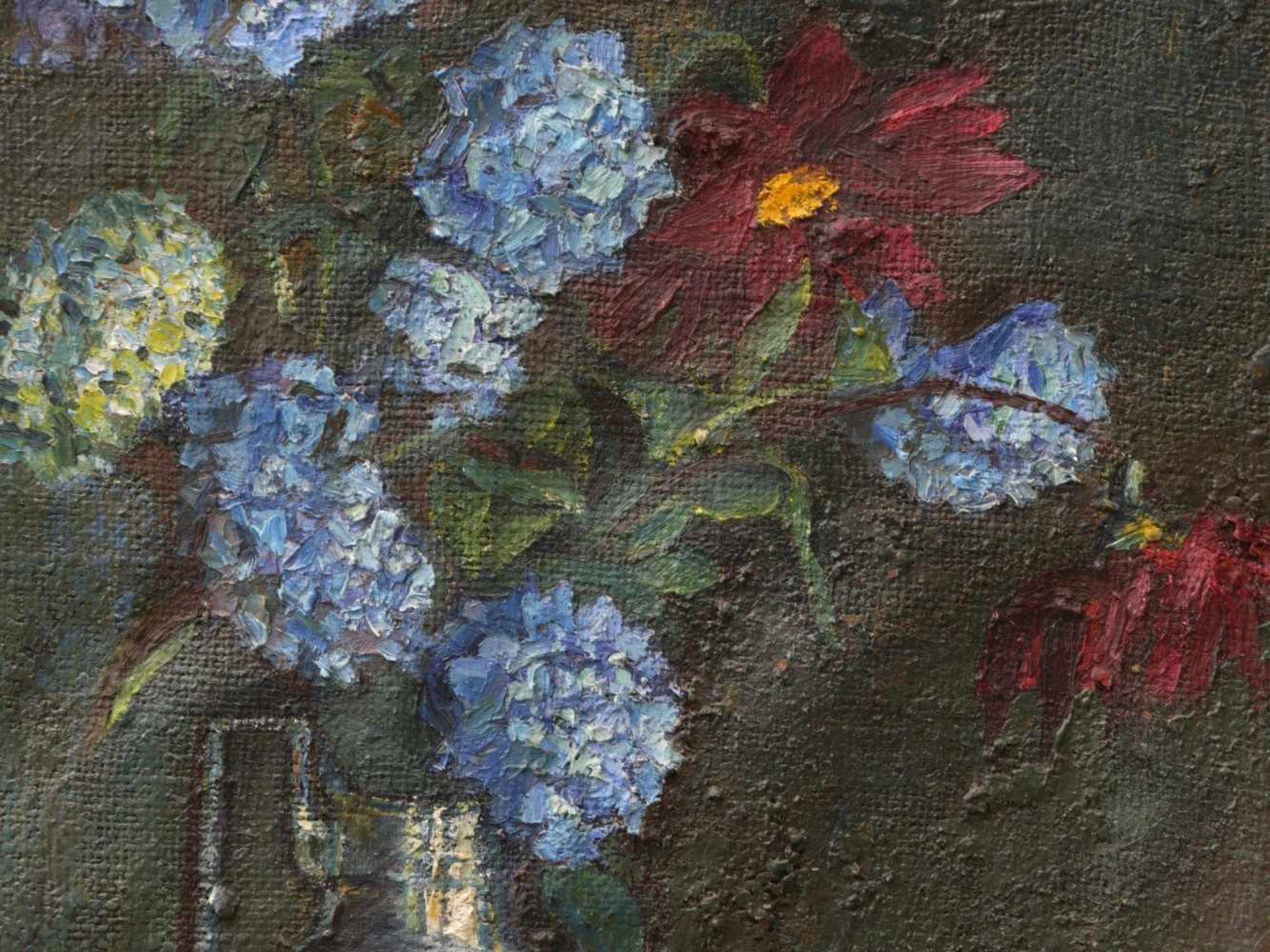 Fiala, Vaclav (1896-1980) - Stillleben mit Vase und FrüchtenAnsicht einer hohen, silbernen - Bild 3 aus 8