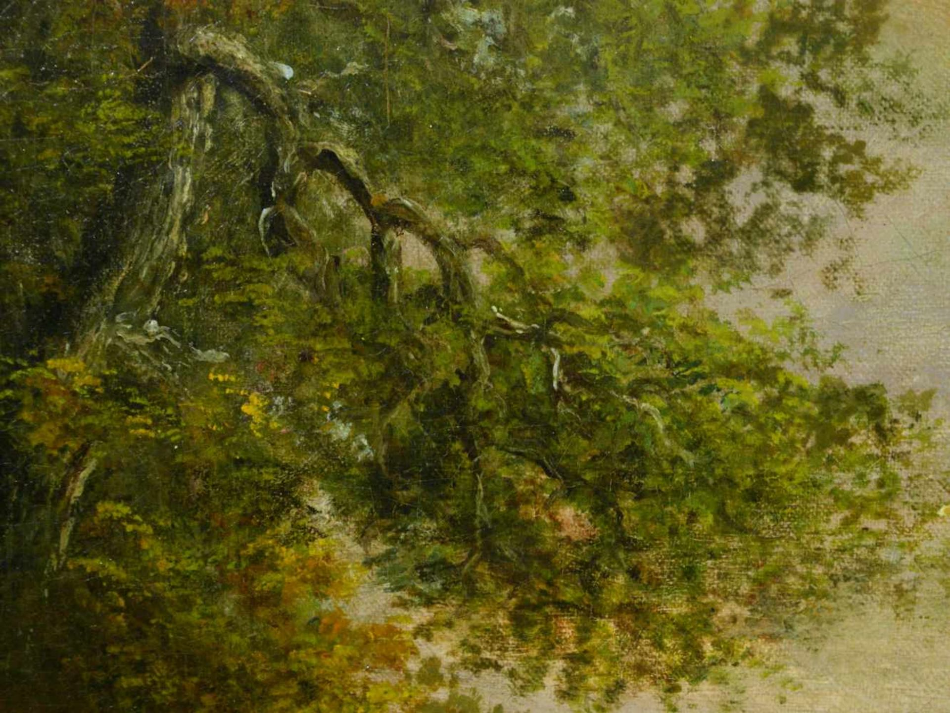 Van Os, Pieter Gerardus (1776-1839) - Romantische Landschaft mit Tieren und SchäferIdealistische - Bild 6 aus 8