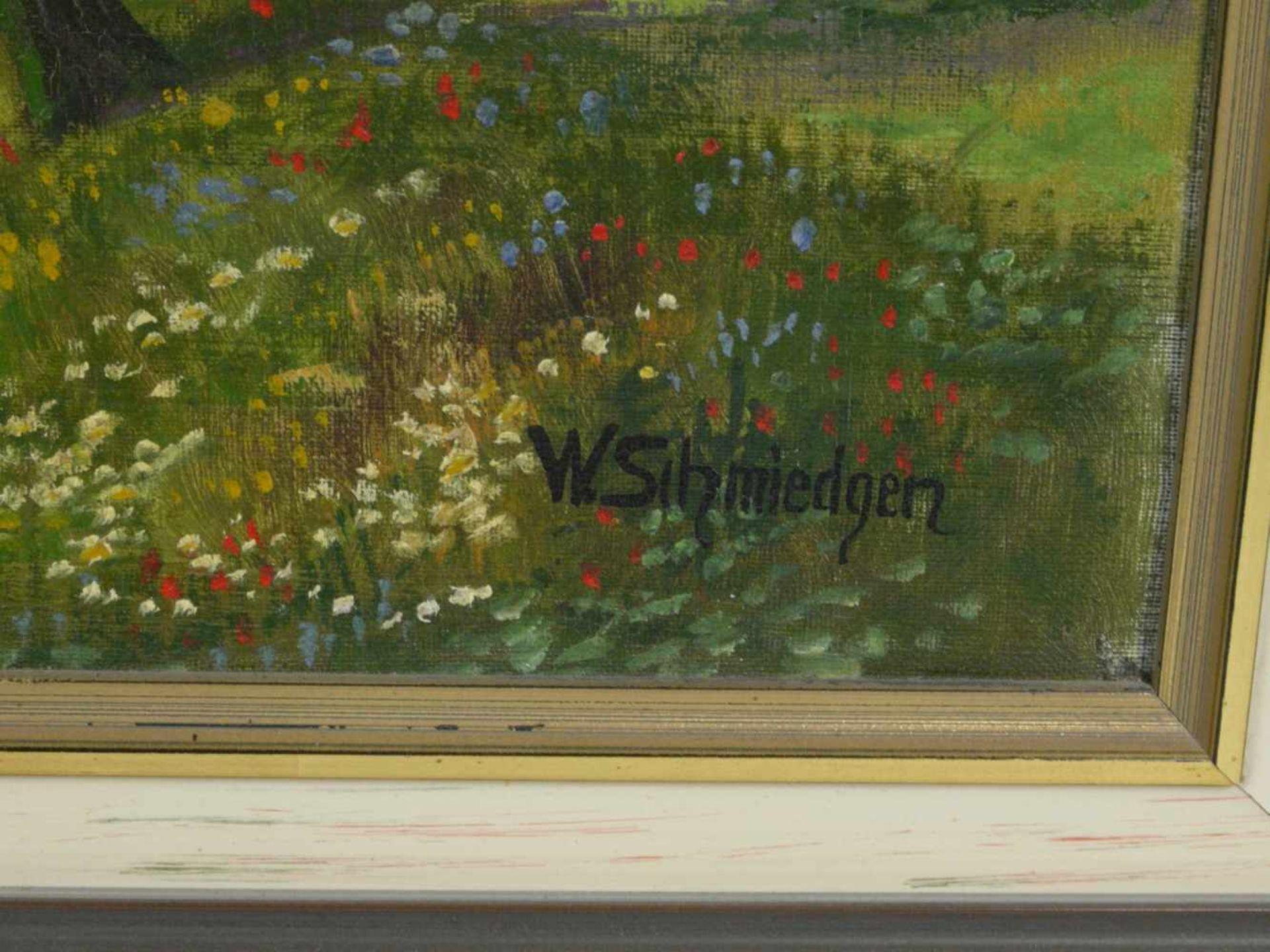 Schmiedgen, W. - Birkenallee im SpätsommerBlick in eine übers Land führende Birkenallee, zu ihren - Bild 4 aus 7