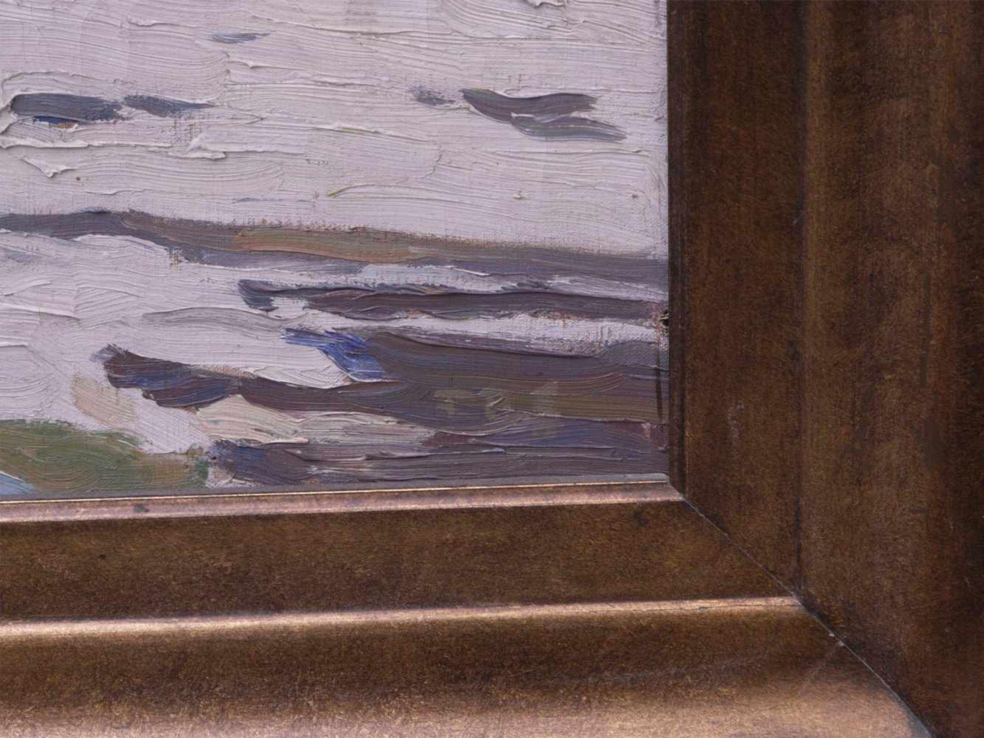 Schwemmer, Friedrich Rudolf (vor 1900 nach 1940) - Winterlandschaft um 1915Expressionistische - Bild 3 aus 5