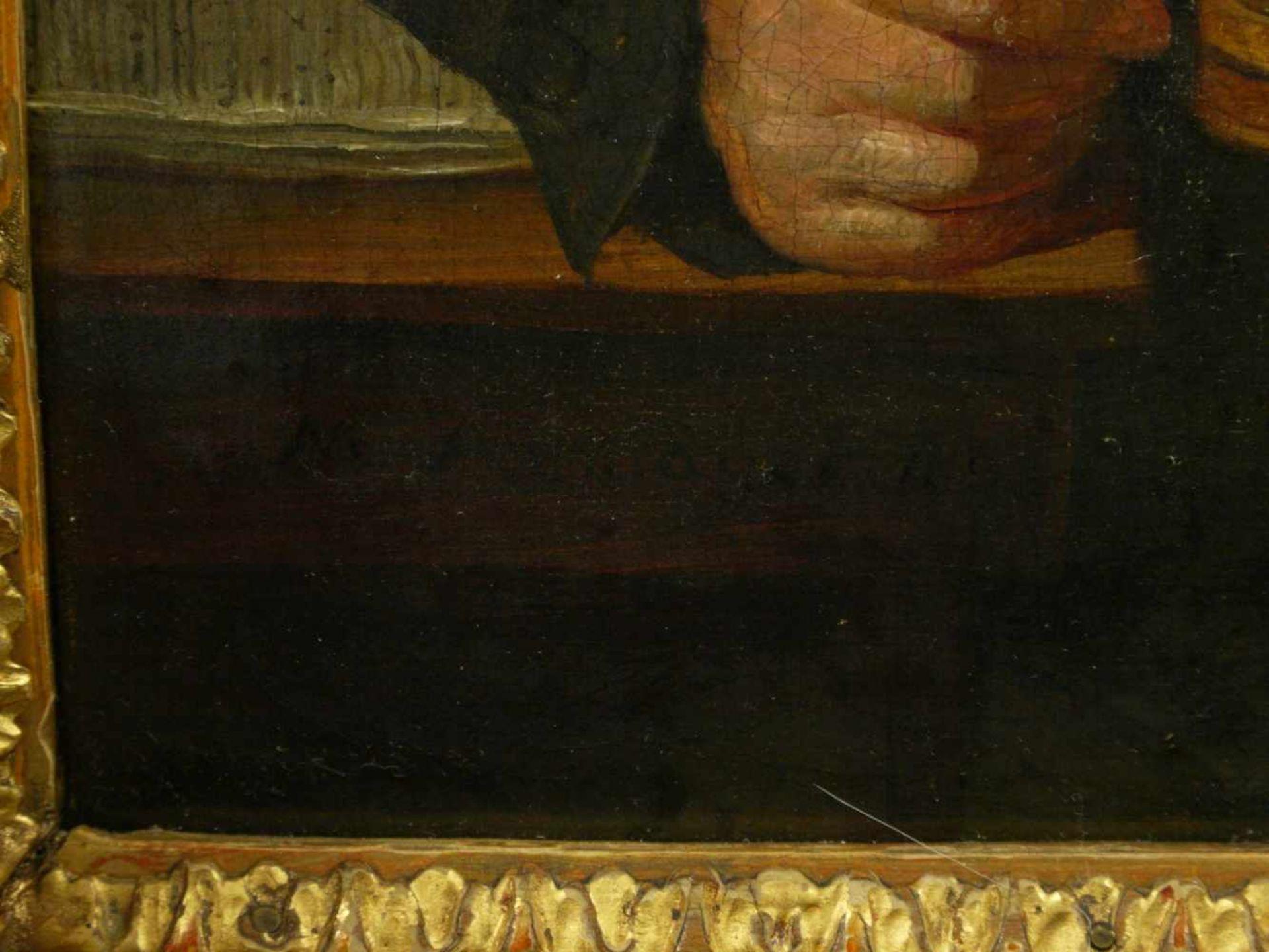Sig. N. A?mayer - Portrait eines BürgersQualitativ hochwertig ausgeführtes Portait eines auf einen - Bild 4 aus 7