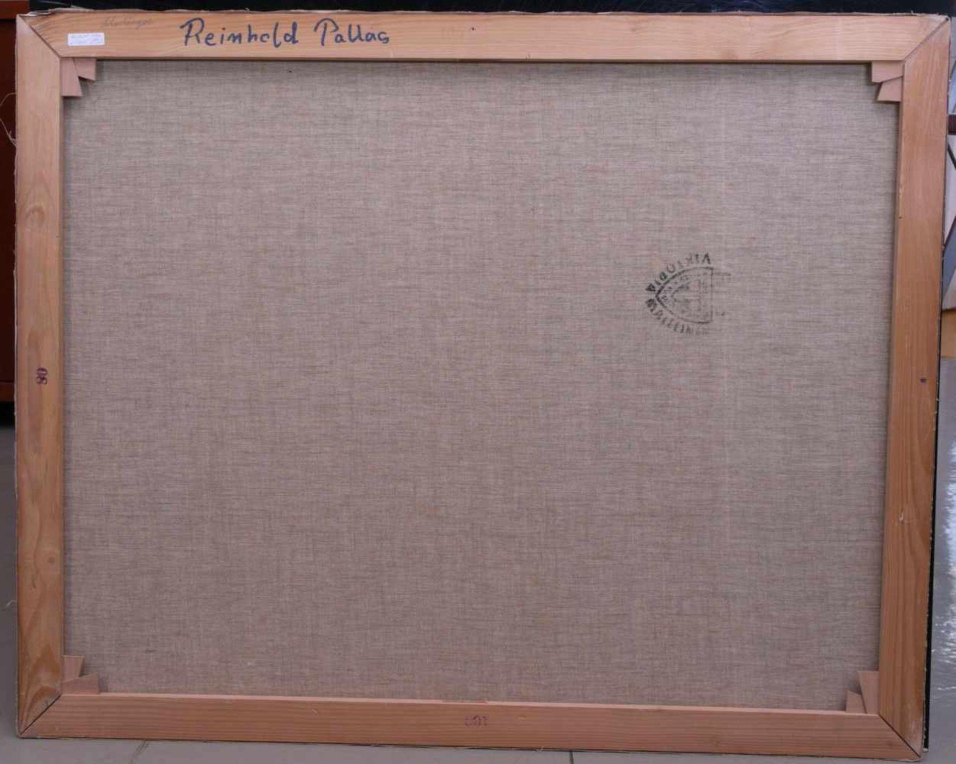 Pallas, Reinhold (1901-1970) - Meeresbucht im SonnenscheinIn schnellem, impressionistischen Stil - Bild 3 aus 3