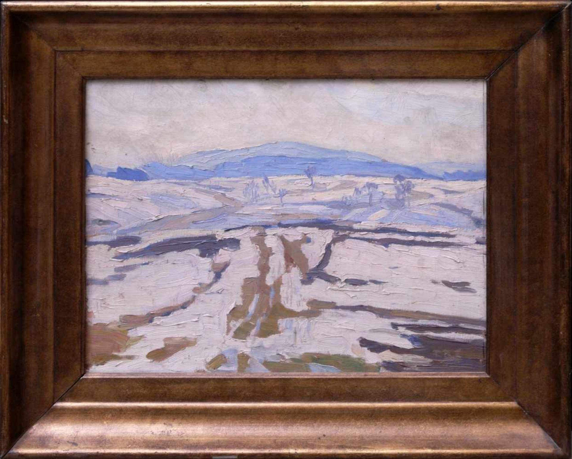 Schwemmer, Friedrich Rudolf (vor 1900 nach 1940) - Winterlandschaft um 1915Expressionistische