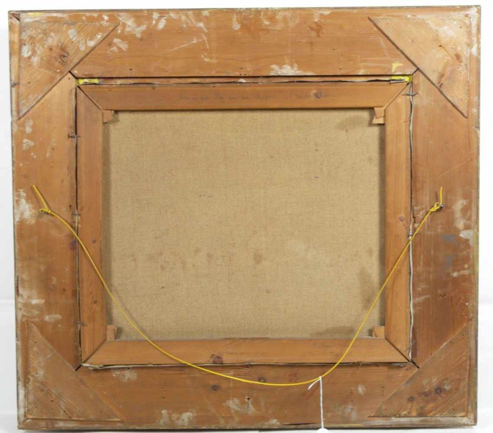 Baur, Albert (1867-1959) - Sonniger Tag an der Anger (Niederrhein)An einem mit vier großen Weiden - Bild 5 aus 6