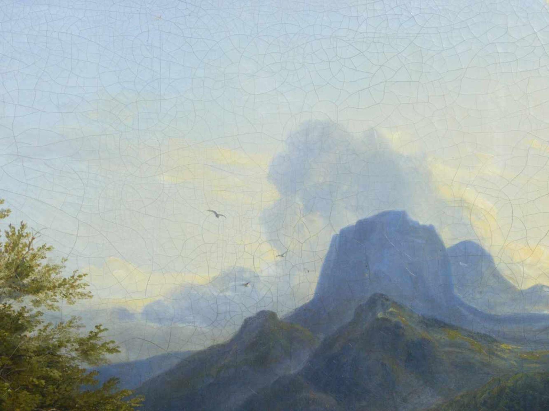 Ott, Johann Nepomuk (1804 - 1870) - Der Hintersee bei Berchtesgaden 1842Landschaftliche - Bild 5 aus 6