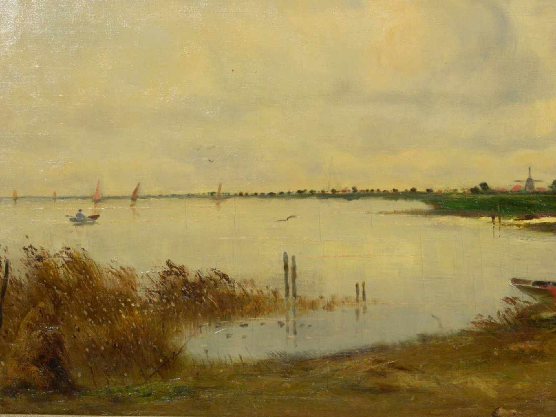 Sedlmeier (Sedlmayer), Sepp - Küstenlandschaft in Norddeutschland oder HollandLandschaftsdarstellung - Bild 5 aus 6