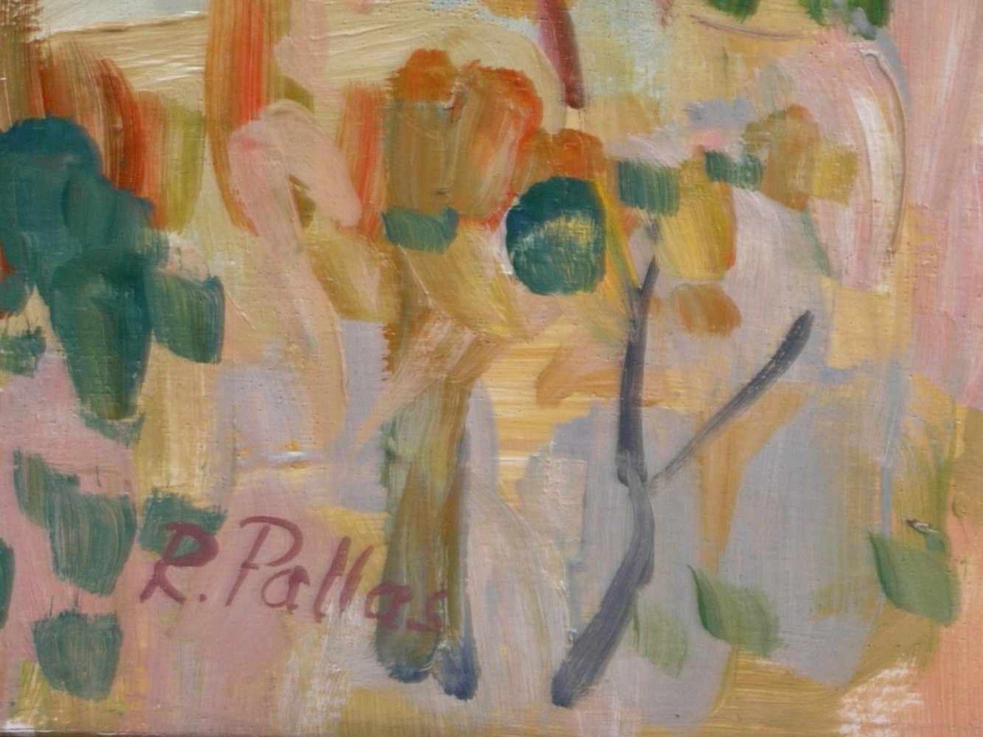 Pallas, Reinhold (1901-1970) - Bei ArezzoMediterrane Landschaft in der typischen Manier des - Bild 2 aus 3
