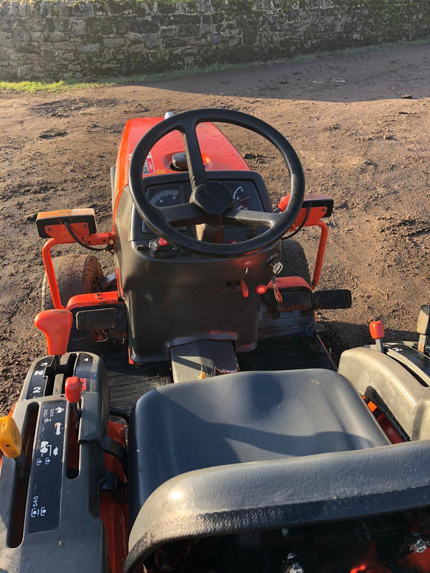 Lot 84 - KUBOTA B1410 COMPACT TRACTOR, RUNS, WORKS AND DRIVES, 4 WHEEL DRIVE *PLUS VAT*