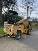 DUMEC BT1600 H 4WD CEMENT MIXER, IN GOOD WORKING ORDER, SHOWING 2187 HOURS *PLUS VAT*