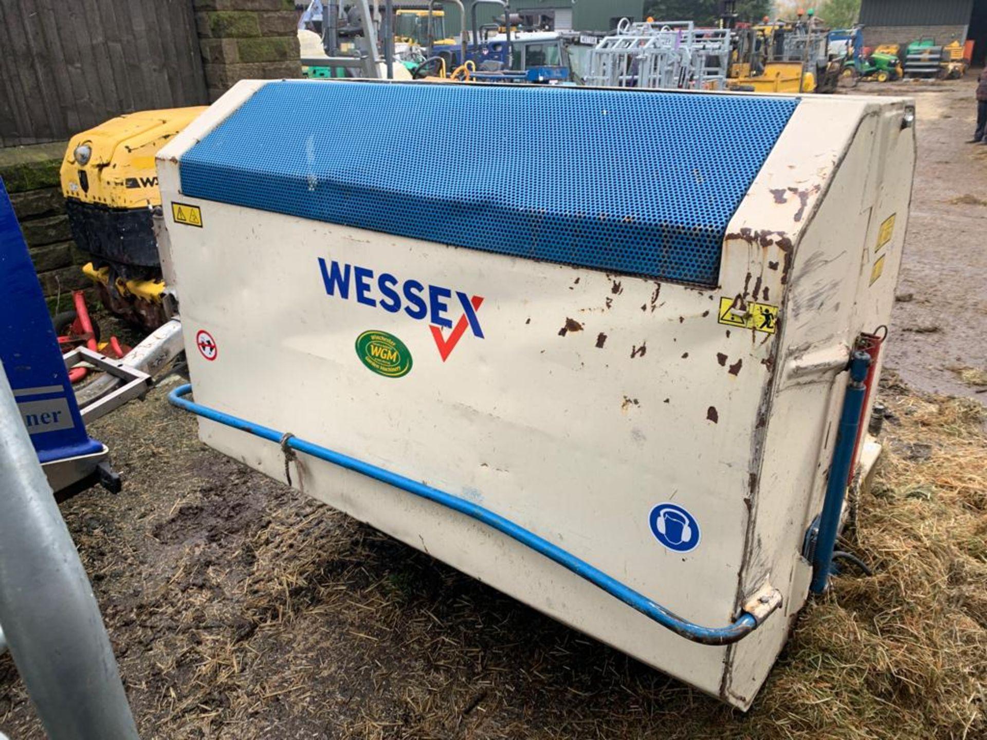 Lot 118 - PTO DRIVEN WESSEX FLAIL COLLECTOR, *PLUS VAT*