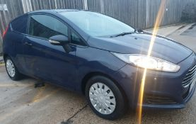 2014/14 REG FORD FIESTA ECONETIC TECH TDCI 1.6 DIESEL CAR/VAN, SHOWING 0 FORMER KEEPERS *NO VAT*