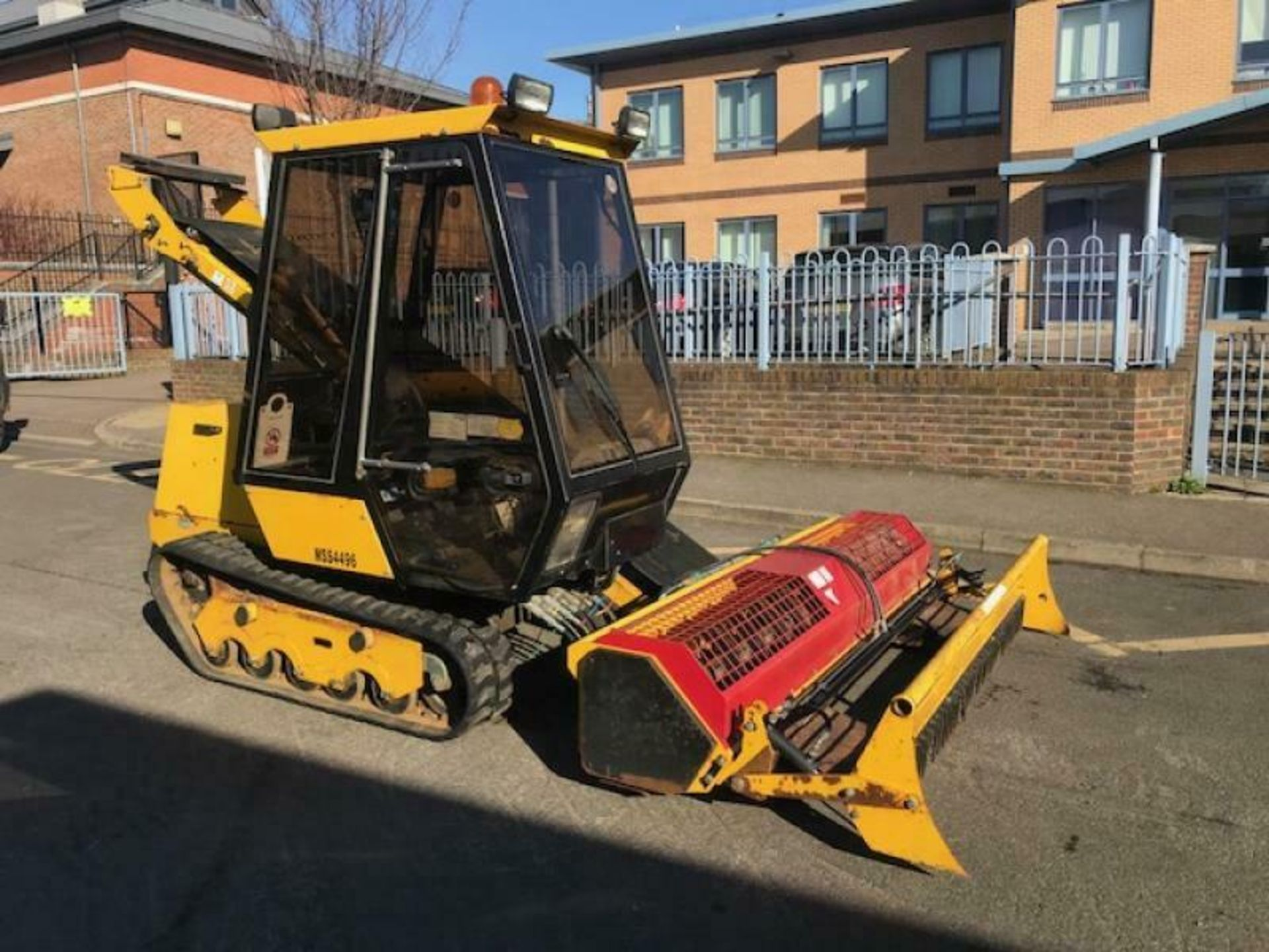 Lot 97 - 2012 MORRISH SK4 TRACKED SAND SKIMMER BEACH FILTER WATER TREATMENT, ONLY 300 HOURS *PLUS VAT*