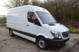2015/15 REG MERCEDES-BENZ SPRINTER 313 CDI 2.2 DIESEL PANEL VAN, SHOWING 1 FORMER KEEPER *NO VAT*