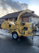 VERMEER 935I SINGLE AXLE TOWABLE WOOD CHIPPER, RUNS, WORKS AND CHIPS WELL *NO VAT*