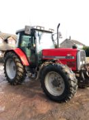 MASSEY FERGUSON 6160 TRACTOR 100HP FRONT LINKAGE GOOD TYRES *PLUS VAT*