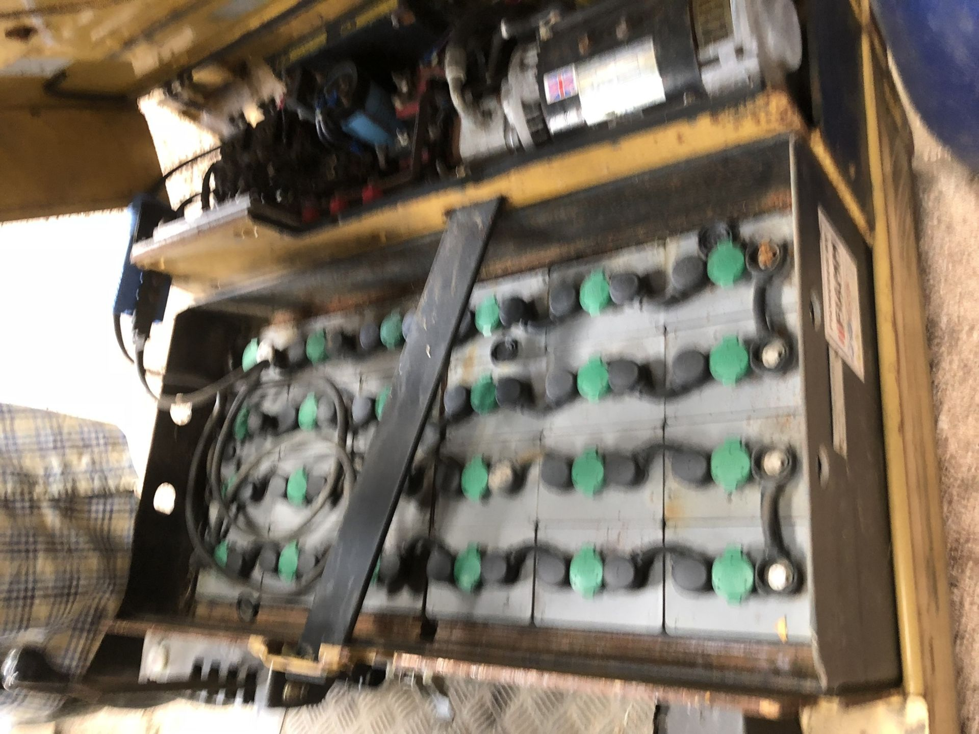 Lot 435 - 1995 CATERPILLAR EP1.5T ELECTRIC FORKLIFT, *PLUS VAT*