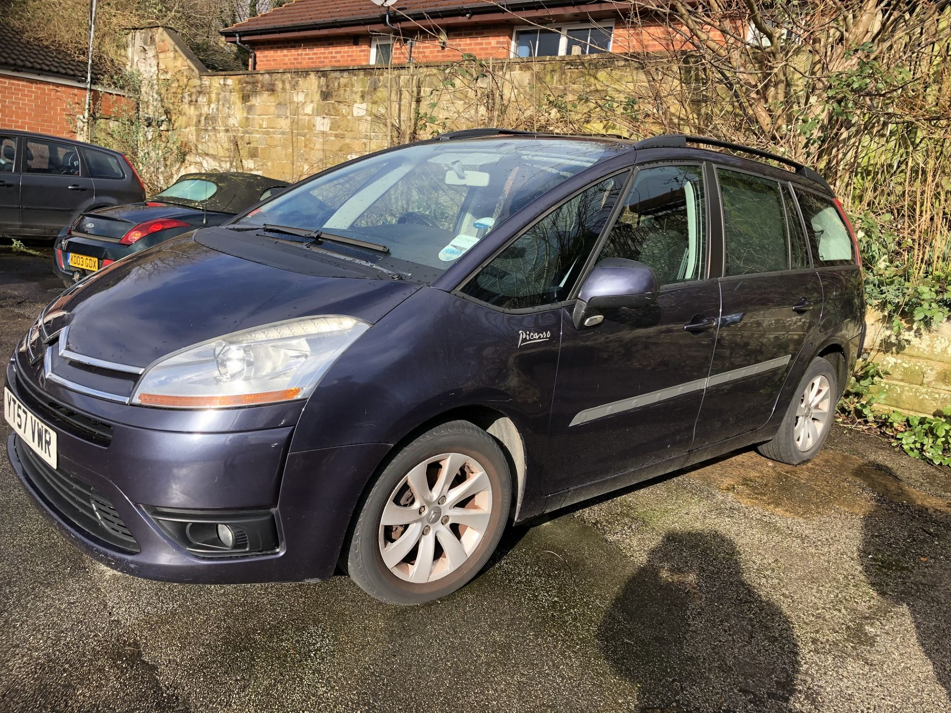Lot 53 - 2007/57 REG CITROEN C4 PICASSO VTR PLUS HDI AUTOMATIC 1.6 DIESEL MPV *NO VAT*