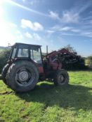 CASE INTERNATIONAL 895 LOADER TRACTOR, RUNS AND WORKS, DOES WHAT IT SHOULD, 4 WHEEL DRIVE *PLUS VAT*