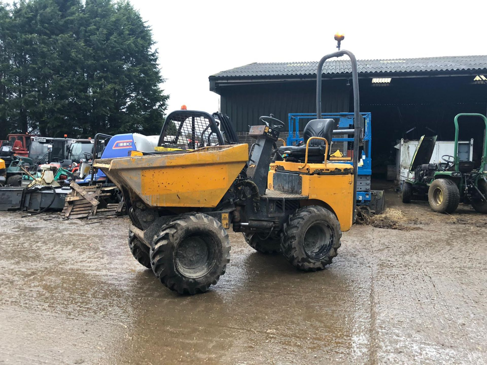 Lot 60 - TEREX HD1000 1 TON DUMPER, YEAR 2009, RUNS, WORKS AND TIPS *PLUS VAT*