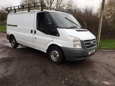 2011/11 REG FORD TRANSIT 85 T280M FWD MWB 2.2 DIESEL PANEL VAN, SHOWING 2 FORMER KEEPERS *PLUS VAT*