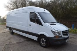 2016/65 REG MERCEDES-BENZ SPRINTER 313 CDI 2.2 DIESEL PANEL VAN, SHOWING 1 FORMER KEEPER *NO VAT*
