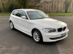 2011/11 REG BMW 116D SE 2.0 DIESEL WHITE 3 DOOR HATCHBACK, SHOWING 2 FORMER KEEPERS *NO VAT*