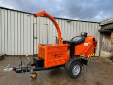 TIMBERWOLF TW150 DHB WOOD CHIPPER, KUBOTA DIESEL ENGINE *PLUS VAT*