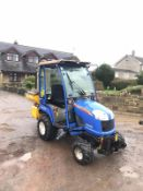 ISEKI TXG237 COMPACT TRACTOR, FULL GLASS CAB, ONLY 411 HOURS, YEAR 2011 *PLUS VAT*