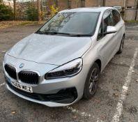 2019/68 REG BMW 225XE SPORT PREMIUM AUTOMATIC 1.5 HYBRID ELECTRIC SILVER 5 DOOR HATCHBACK *PLUS VAT*